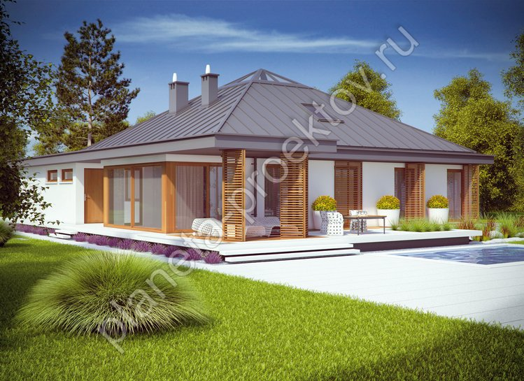 Дома в европейском стиле фото