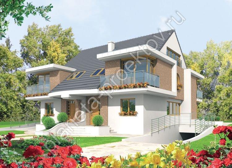 Фото проектов домов в стиле модерн