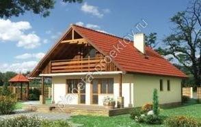 Проект кирпичного дома до 150 кв м баба