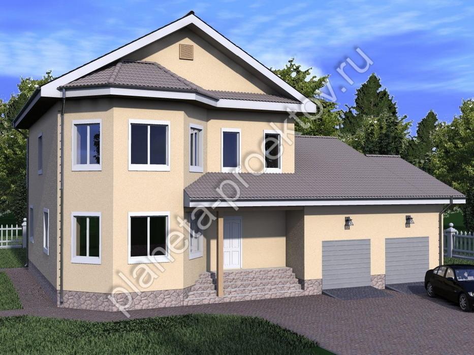 Загородный дом эконом класса