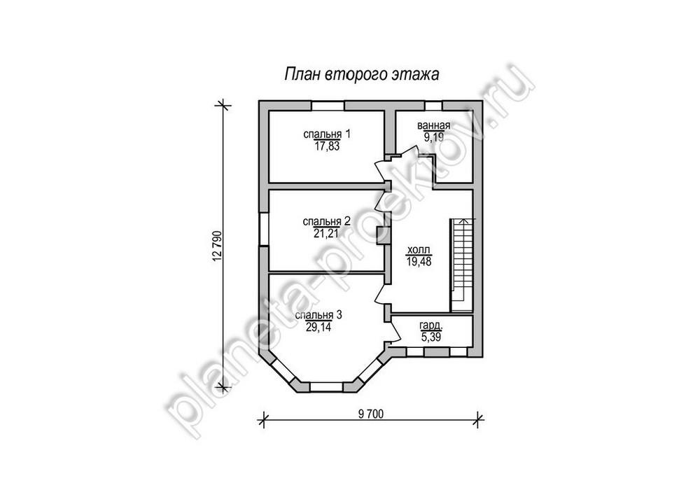 Проект домов из пеноблоков с гаражом