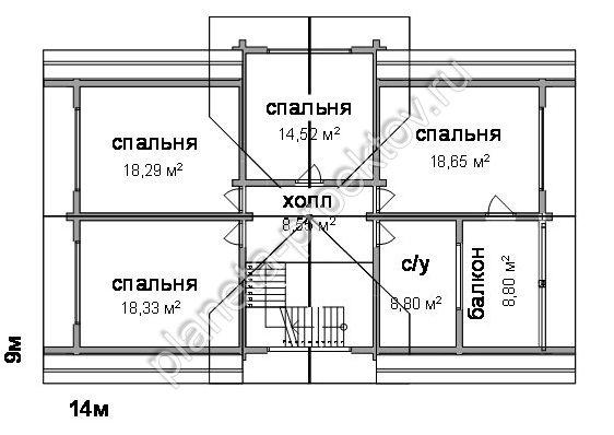 Проект дома 10-123