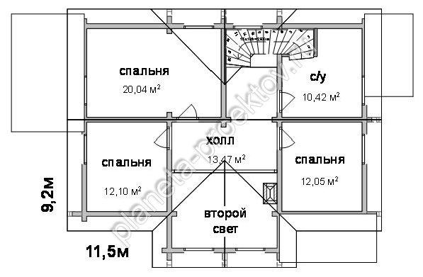 проекты домов с интересной планировкой