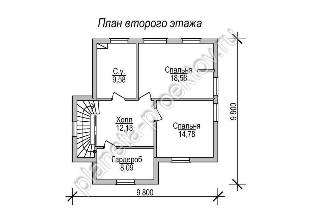 Проект дома 10-114s