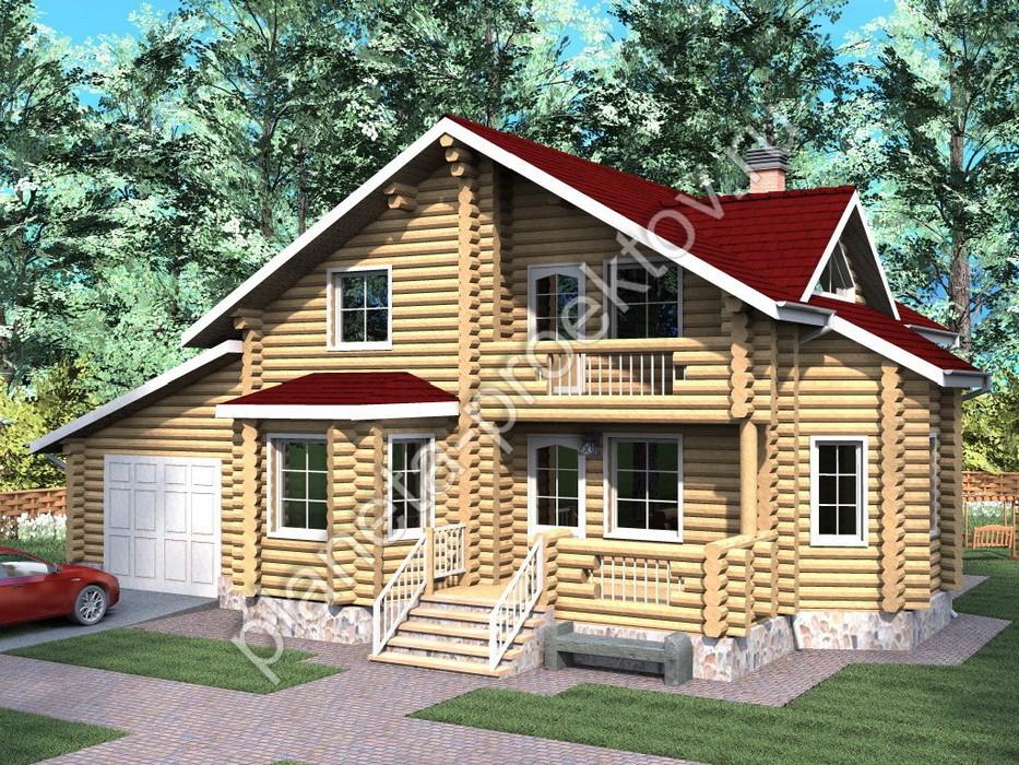 Дом дачный 6 х 6 с террасой, садовый домик 6 на 6